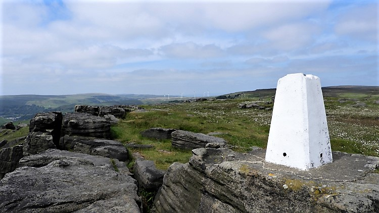 Bride Stones Trig Pillar